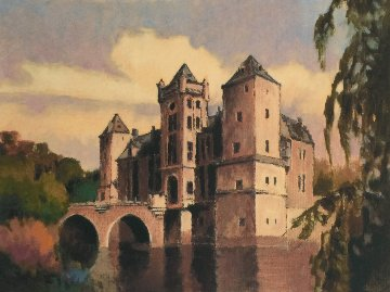 Chateau in Autumn, Suite of 4 Prints 1999 Limited Edition Print - Max Hayslette