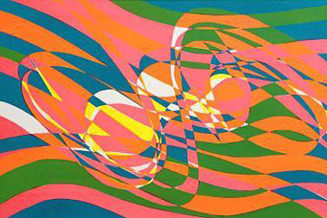 Ressac (1973) Limited Edition Print by Stanley Hayter
