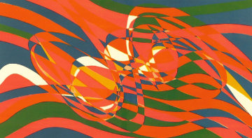 Ressac 1973 Limited Edition Print by Stanley Hayter