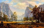 Yosemite Landscape Painting 33x46 Original Painting - Ronnie Hedge