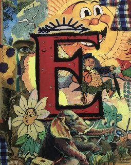 Love Letters: Letter E 1998 Limited Edition Print - Bruce Helander
