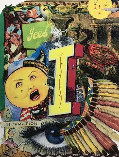 Love Letters: I 1998 Limited Edition Print - Bruce Helander