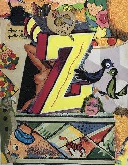 Love Letters: Letter Z 1998 Limited Edition Print - Bruce Helander
