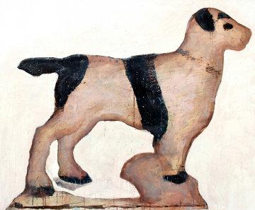 Dog Daze 2014 37x44 Original Painting - Bruce Helander