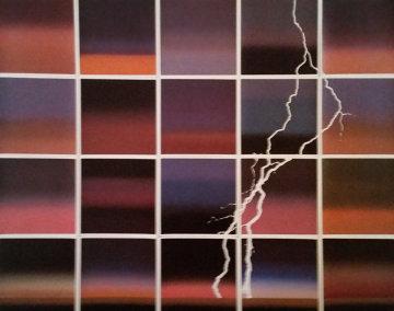 La Tempestad 1986 67x84 Original Painting - Jan Hendrix