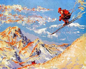 Skier 1979 Limited Edition Print - Paul Blaine Henrie