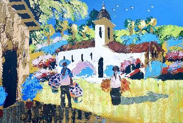 Memories of Mexico 1978 40x60 Huge Original Painting - Paul Blaine Henrie