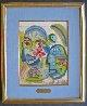 For Friend Joe Gray 1963 13x10 Watercolor by Henry Miller - 1