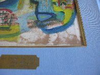 For Friend Joe Gray 1963 13x10 Watercolor by Henry Miller - 3