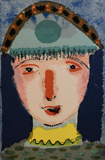 Antoine the Clown 1991 Limited Edition Print by Henry Miller
