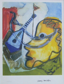 Pablo\'s Guitar Limited Edition Print - Henry Miller