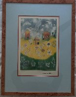 House and Angels 2000 Limited Edition Print by Henry Miller - 1
