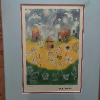 House and Angels 2000 Limited Edition Print by Henry Miller - 2
