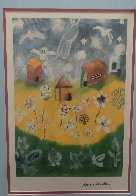 House and Angels 2000 Limited Edition Print by Henry Miller - 3