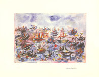 Battle of Trafalgar Limited Edition Print by Henry Miller - 0