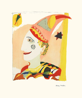 Le Clown 1973 Limited Edition Print - Henry Miller