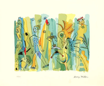 Sunday Afternoon Limited Edition Print by Henry Miller