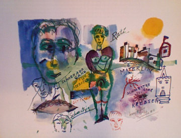 Insomnia # 4 1966 Limited Edition Print - Henry Miller