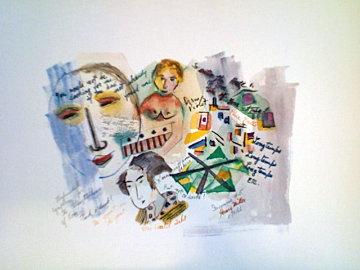 Insomnia # 5 Limited Edition Print by Henry Miller
