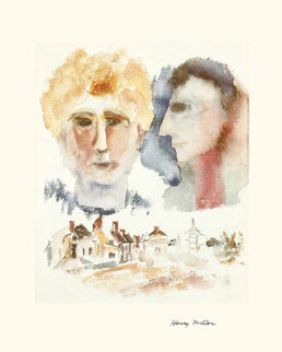 Lovers Dreaming Limited Edition Print by Henry Miller