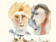 Lovers Dreaming Limited Edition Print by Henry Miller - 2