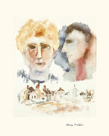 Lovers Dreaming Limited Edition Print by Henry Miller - 1