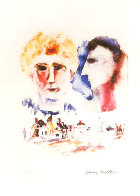 Lovers Dreaming Limited Edition Print by Henry Miller - 0