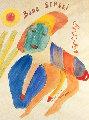 Bobo Sensei Watercolor  1968 30x26 Watercolor - Henry Miller