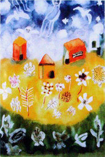 Houses of Angels 2000 Limited Edition Print - Henry Miller