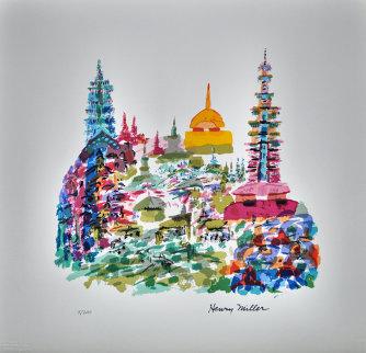 Jerusalem 1991 Limited Edition Print - Henry Miller