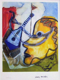 Pablo's Guitar Limited Edition Print by Henry Miller