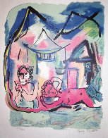 Looking Eastward to the Sea Limited Edition Print by Henry Miller - 0