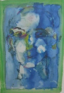 Blue Face 1974 Limited Edition Print by Henry Miller