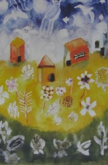House And Angels 2000 Limited Edition Print by Henry Miller