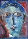 Portrait for Earl Schilling Watercolor 1945 11x9 Watercolor by Henry Miller - 0
