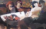 Splendid Evening  Serigraph 2004 Limited Edition Print - Abrishami Hessam