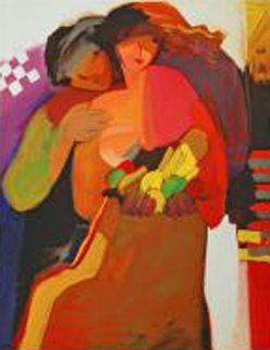 Sweethearts Huge Limited Edition Print - Abrishami Hessam