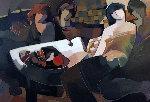 Splendid Evening 2004 Limited Edition Print - Abrishami Hessam