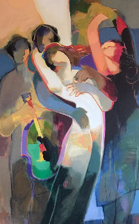 Delightful Dance 2001 Limited Edition Print - Abrishami Hessam