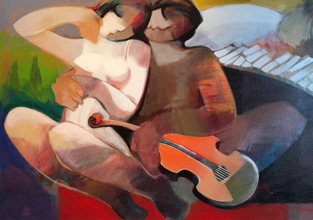 Music of Love 35x47 by Abrishami Hessam
