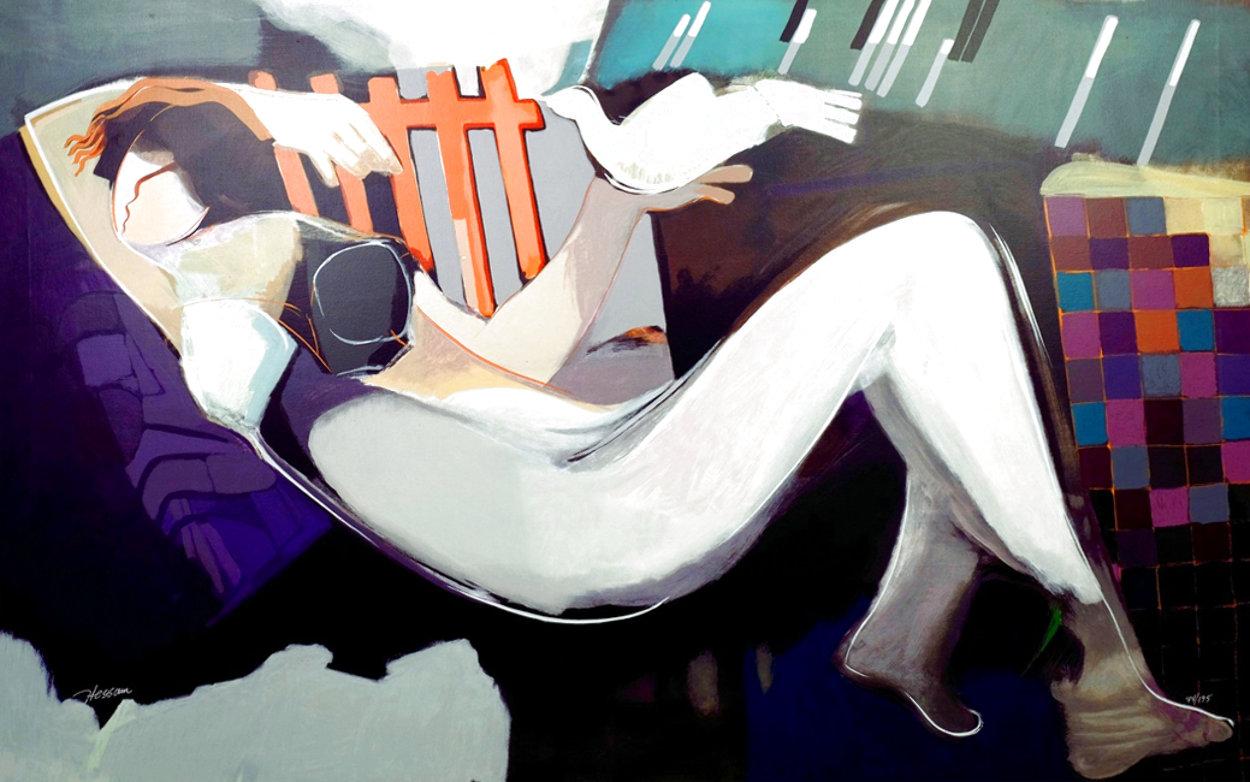 Nude Night Limited Edition Print by Abrishami Hessam