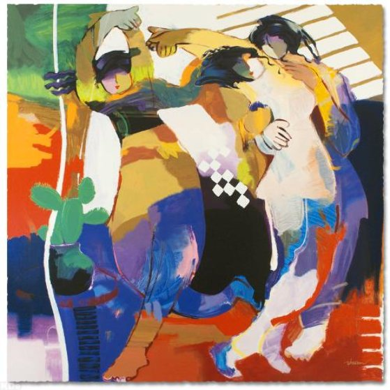 Tulip Dance 1995 Limited Edition Print by Abrishami Hessam