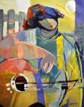 Pure Dream 30x24 Original Painting - Abrishami Hessam