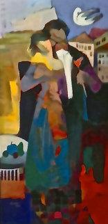 Venice Night 2000 45x23 Huge Limited Edition Print - Abrishami Hessam