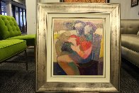 Edge of Love Embellished Limited Edition Print by Abrishami Hessam - 1
