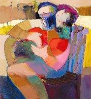 Edge of Love Embellished Limited Edition Print by Abrishami Hessam - 0