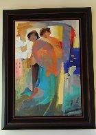 First Spring 1997 30x44 Super Huge Original Painting by Abrishami Hessam - 1