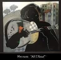 Closed Windows, All I Need, Lonesome, And Friendship II, Set of 4 1997 Limited Edition Print by Abrishami Hessam - 3