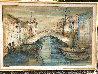 Chiorggia Near Venice 28x40 Original Painting by Edna Hibel - 1