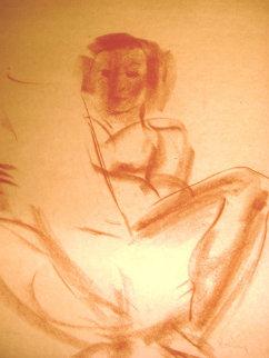 Edna (Self Study) Watercolor 1930 Watercolor - Edna Hibel